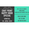 Chat Point / Happy Hour Special
